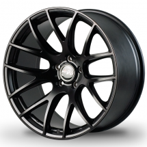 18 Inch Miro Type 111 Silver/Mattte Black 5x112